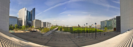 Business district La Defense Stock Photos