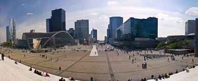 Business district La Defense Stock Photography
