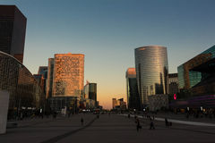 Business district La Defense Royalty Free Stock Images