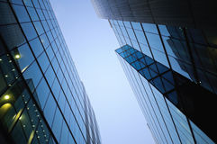 Business district in London Stock Photo