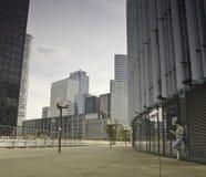 Business district of Paris La Défense Stock Photos
