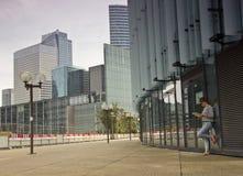 Business district of Paris La Défense Royalty Free Stock Image