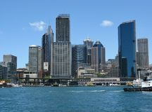 The business district of Sydney Royalty Free Stock Image