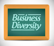 Business diversity chalkboard illustration design. Over a white background Stock Photos