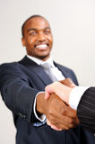 Business diversity handshake Stock Photos