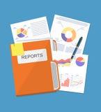 Business document concept Stock Photos