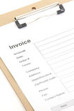 Business Document Invoice Royalty Free Stock Image