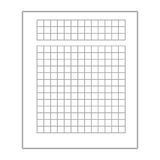 Business document sheet isolated icon. Business document with statistics icon, vector illustration graphic Stock Photo