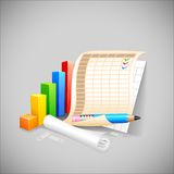 Business DOcument Royalty Free Stock Photos
