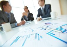 Business documents Stock Photography