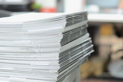 Business documents on desk Stock Photo