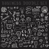 Business Doodle Element Set Stock Image