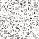 Business Doodle Seamless Stock Photos