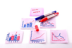 Business doodles Royalty Free Stock Photography
