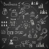 Business doodles Stock Photos
