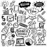 Business Doodles - Creative Process Stock Image
