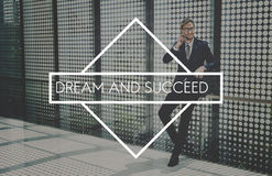 Business Dream and Success Corporate Concept Royalty Free Stock Photos