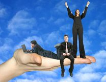 Business dream team 2 Royalty Free Stock Image