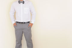 The business dress for man Royalty Free Stock Image