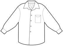 Business Dress Shirt Stock Photo