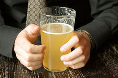 Business drinking break Stock Image