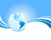 Business Earth Background Stock Photos