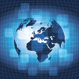 Business Earth Background Royalty Free Stock Image