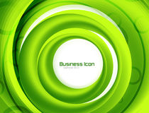 Business ecology swirl concept Royalty Free Stock Photo