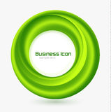 Business ecology swirl concept Stock Images