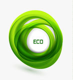 Business ecology swirl concept Royalty Free Stock Image