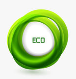 Business ecology swirl concept Stock Photos