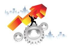 Business Economics Stock Photo