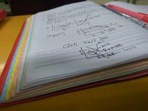 Business Economics. Lessons in Business Economics Stock Photography