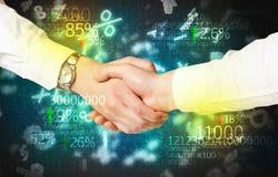 Business Economy handshake Stock Images
