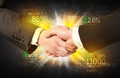 Business Economy handshake Royalty Free Stock Image