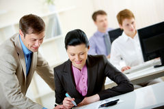 Business education Stock Photos