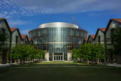 Business Education Complex at LSU Stock Image