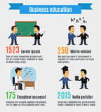 Business education concept royalty free illustration
