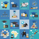 Business Education Concept. Trends and innovation in education. Royalty Free Stock Images