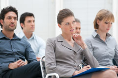 Business educational conference Stock Images