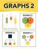 Graphs and Charts Royalty Free Stock Images