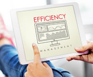 Business Efficiency Evaluate Strategy Management Concept Royalty Free Stock Photos