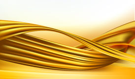 Business elegant abstract gold background Stock Photography