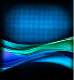 Business elegant blue abstract background Stock Photo