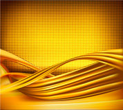 Business elegant gold abstract background Royalty Free Stock Photography