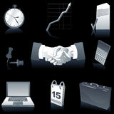 Business Elements Background Stock Image