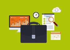 Business elements Stock Images
