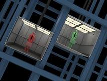 Business - Elevator Stock Photo