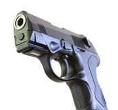 Business end of a handgun Stock Photography