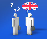 Business English Chat Royalty Free Stock Photo